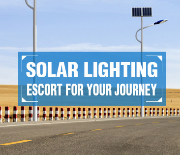 Efficient solar lighting solution for street, highways, main roads, avenues
