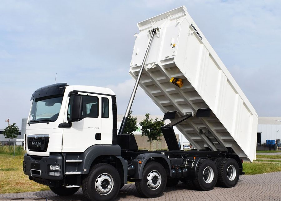 MAN 8x4 Halfpipe and square tipper bodies - NEW