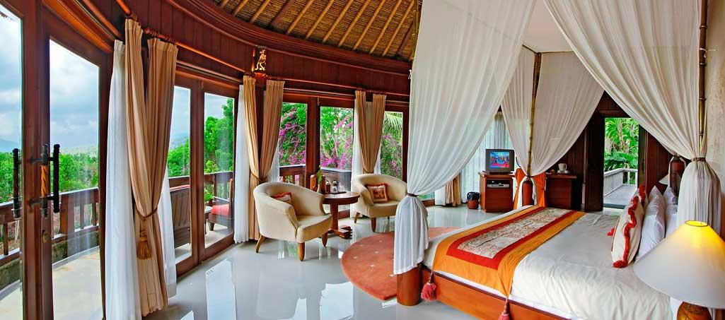 Villa's on edge of West Bali National Park