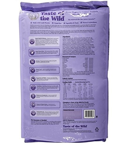 Taste Of The Wild Sierra Mountain Canine Formula Dry Dog Food - $49.99 Amazon