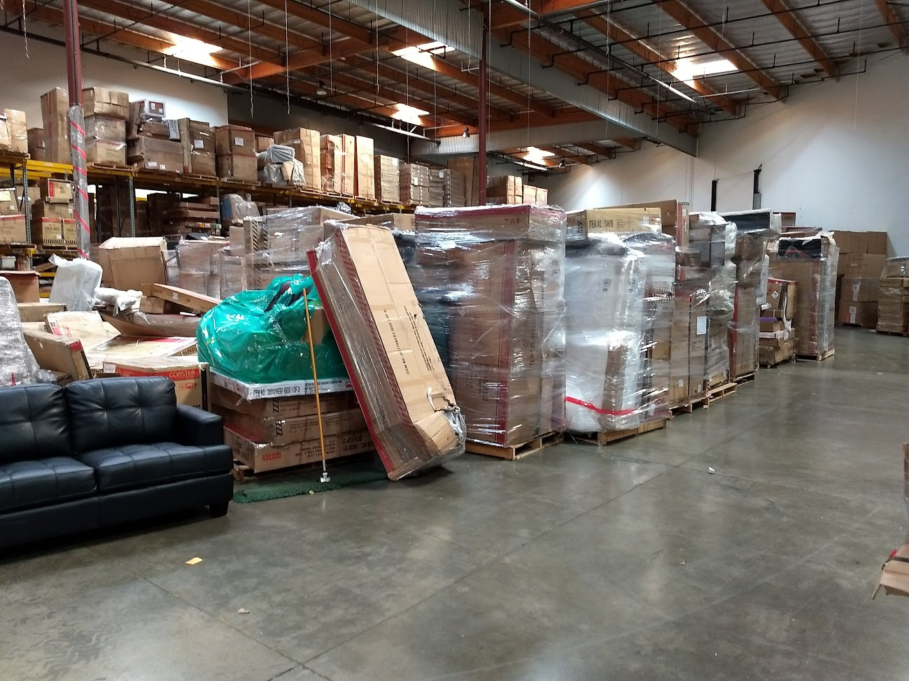 Hand Stacked Truckload from Coaster Furniture! Tons of inventory!