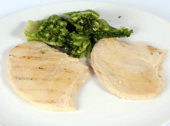 Offer Fully cooked Grill Marked Chicken Filets 3.5oz