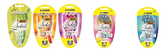BIC Mens and Womens Razors usa nov 15 18