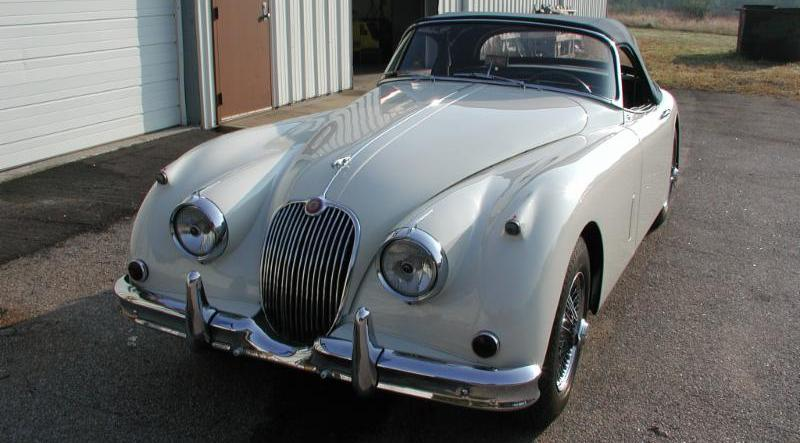 Beautifully Restored 1959 Jaguar XK150S Roadster with Matching Numbers