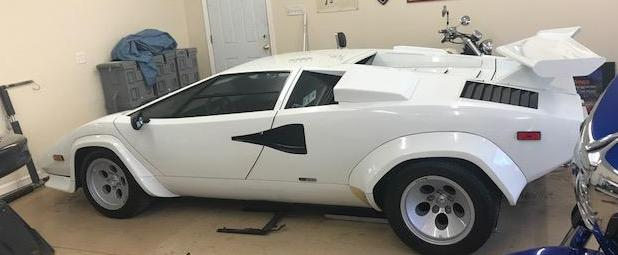 Spectacular 1983 Lamborghini Countach 5000S Rare and Highly Sought-After Carbureted Model with 58k Kilometers