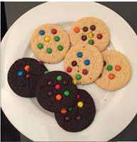 Offer Fully Baked Candy Cookies .7 oz. ($.04/each!)