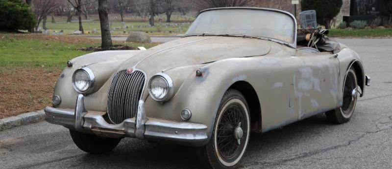 Original 1959 Jaguar XK150 Roadster with Matching Numbers