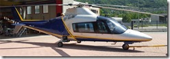 available till the year end - VIP helicopter Agusta A109C by very low price