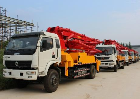 Dongfeng Pump Truck & Concrete Mixer TruckFactory Promotion 2018.12.13