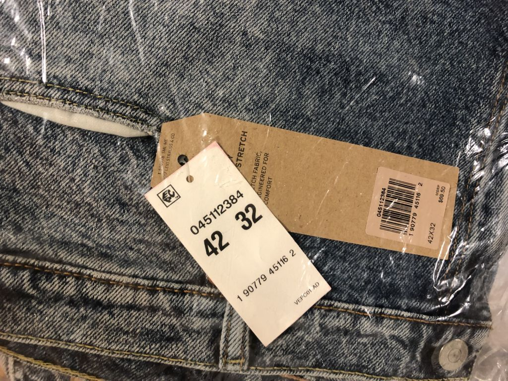 Big & Tall Denim 500pcs usa dec 17 18