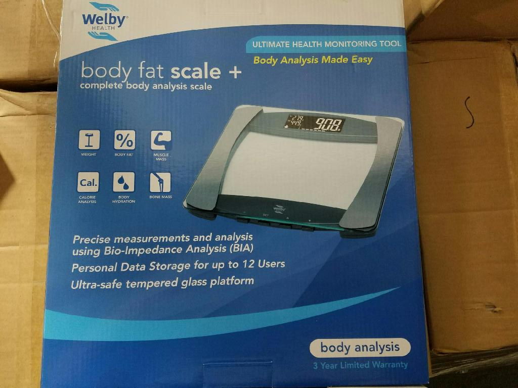 New Fitness Body Fat Scales