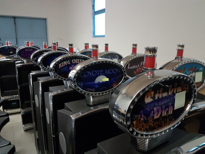 Casino and slot machines warehouse clean out sale. Novomatic, IGT, Bally, Williams, Atronic, EGT and