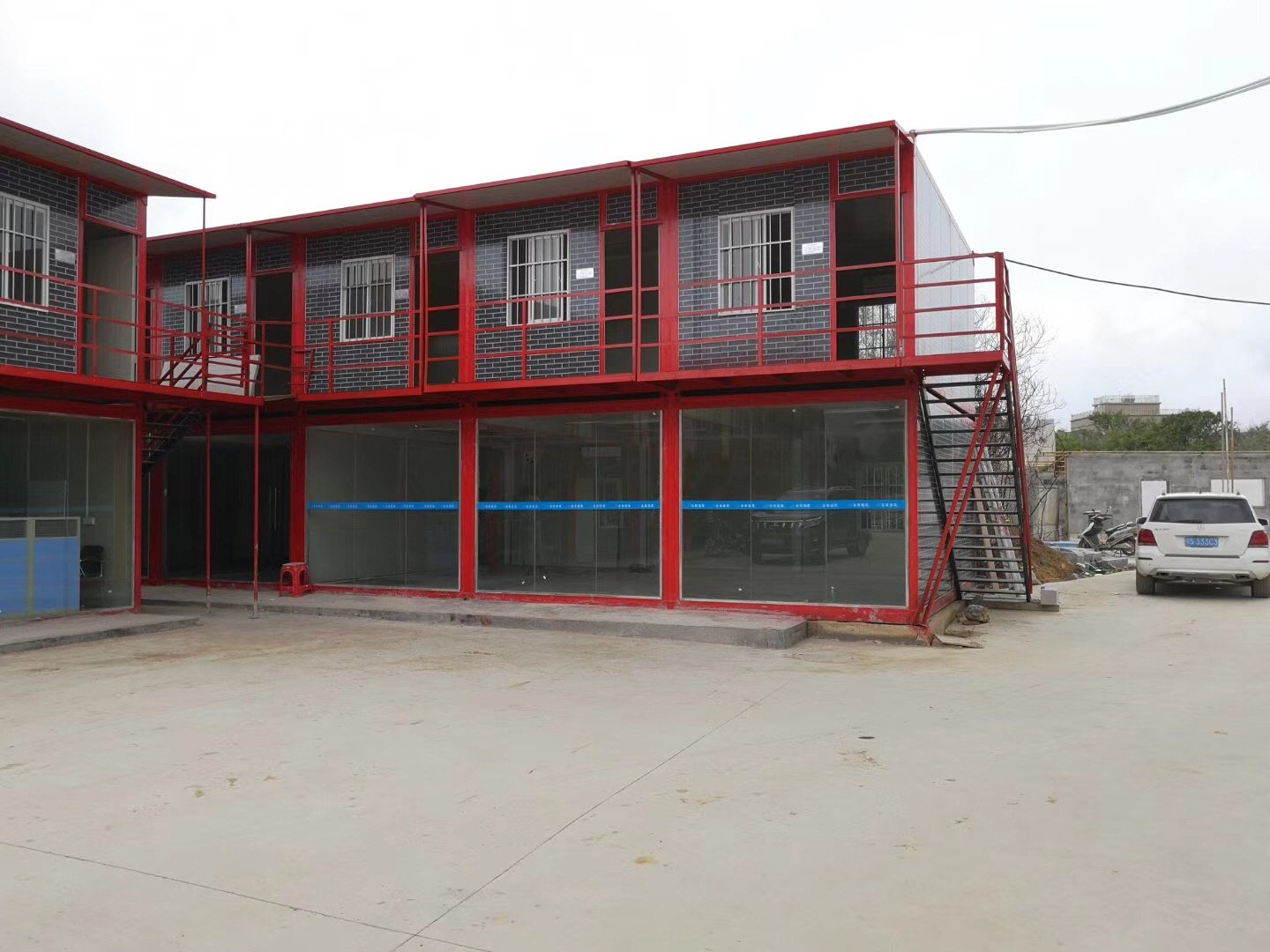 July new project site office, labor camp, container house and container office