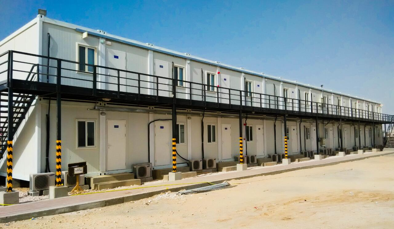 Hot Campsite Container House for Doha--