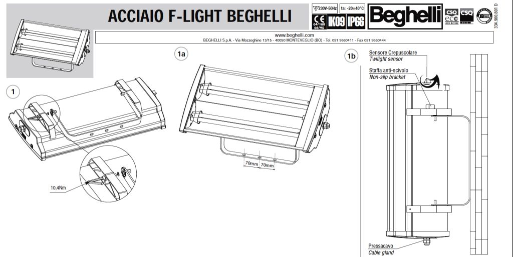 BEGHELLI lighting