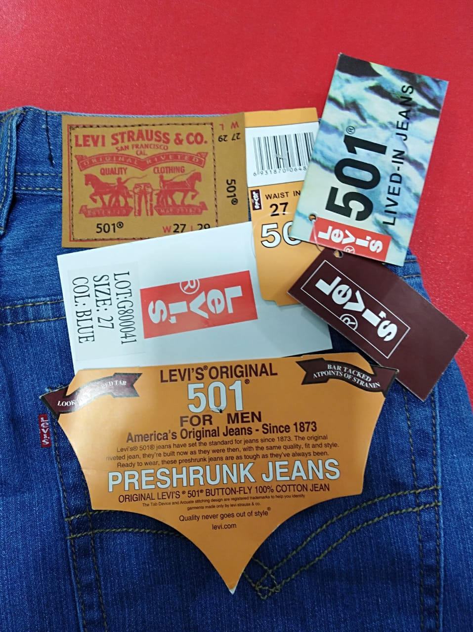 Levi's Men's Denim Pants, middel east aug 11 18