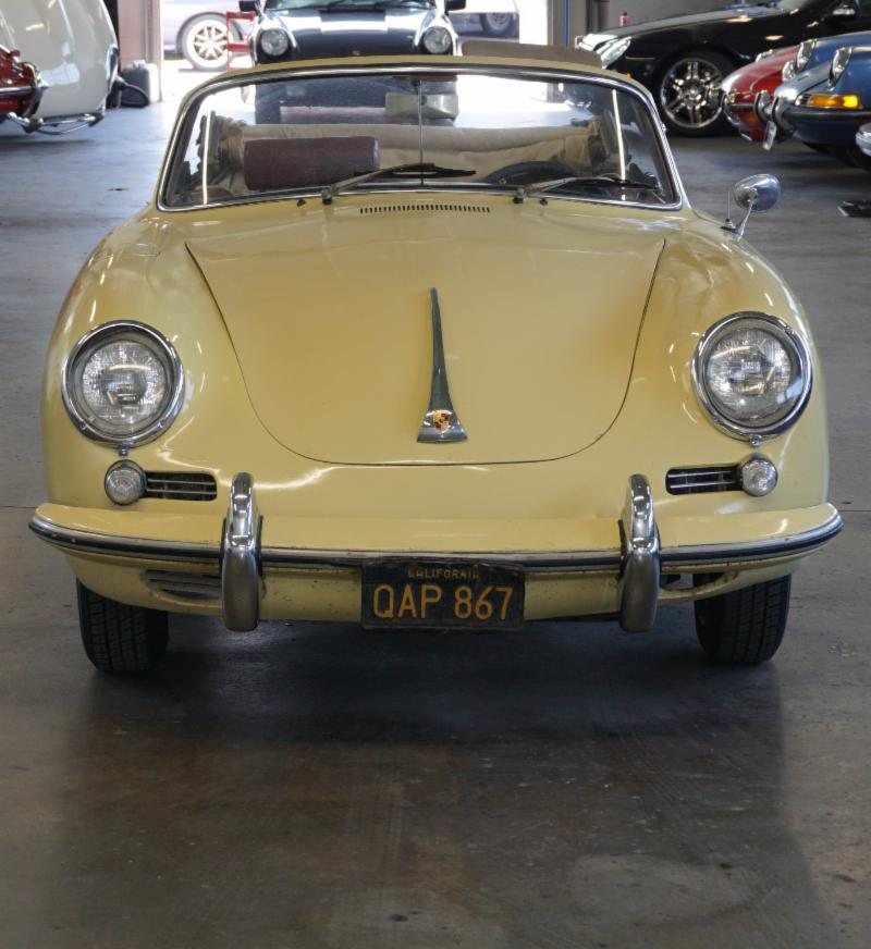 1963 Porsche 356B 1600 Super Cabriolet with Matching Numbers