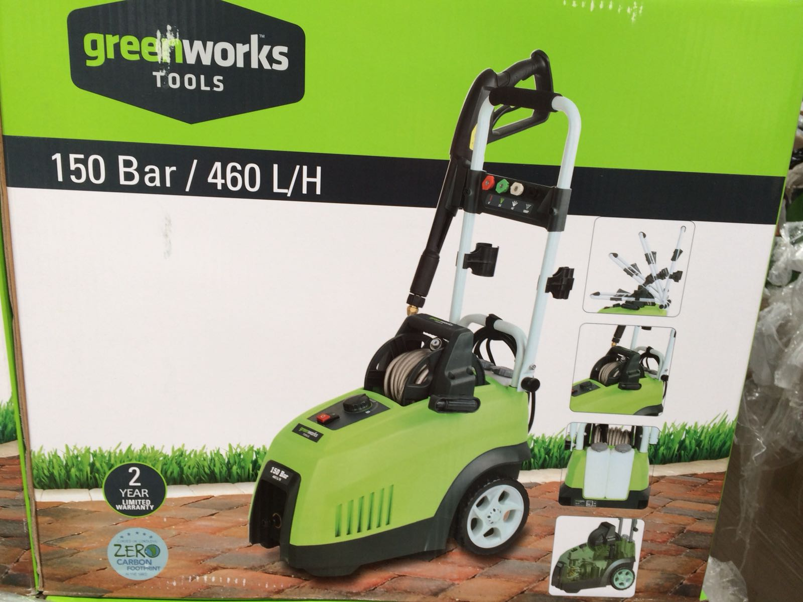 Greenworks jet washers europe aug 28 18