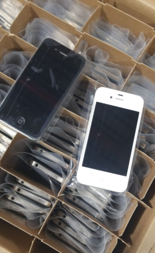 500pcs Iphone 4s Used Clean A1387 usa sept 5 18