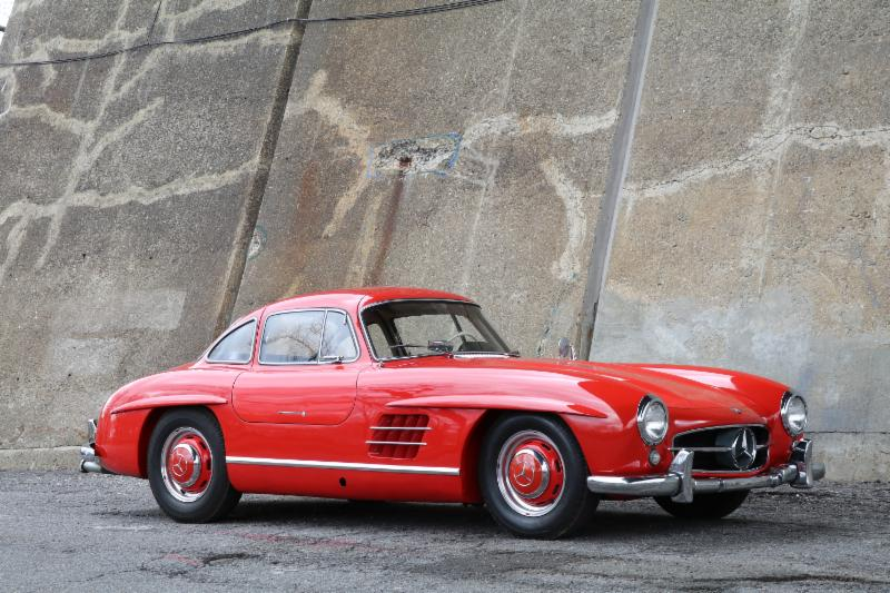 1957 Mercedes-Benz 300SL Gullwing: The 5th from last 300SL Coupe Ever Produced