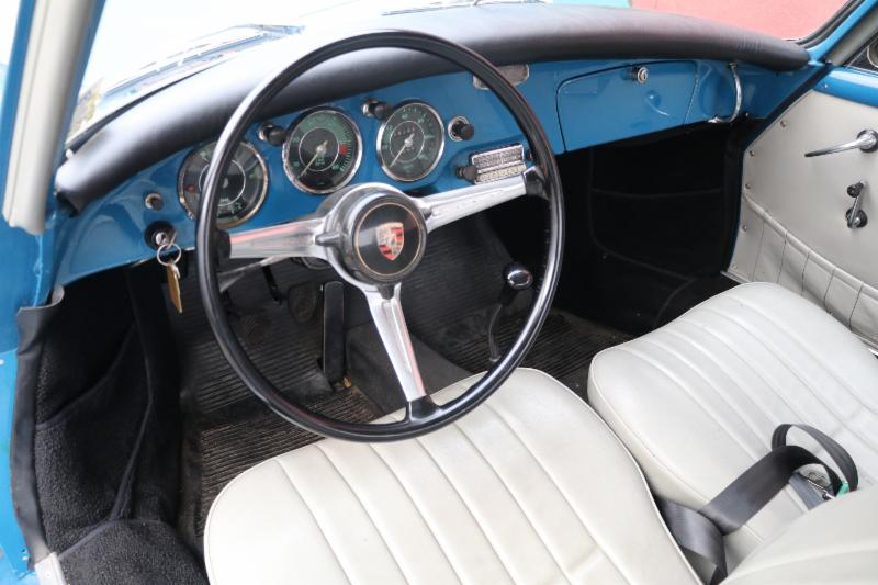 1960 Porsche 356B Super 1600 Cabriolet with Matching Numbers and Factory Hardtop