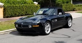 Stunning Black on Black 2001 BMW Z8 with Factory Hardtop and One Owner from New