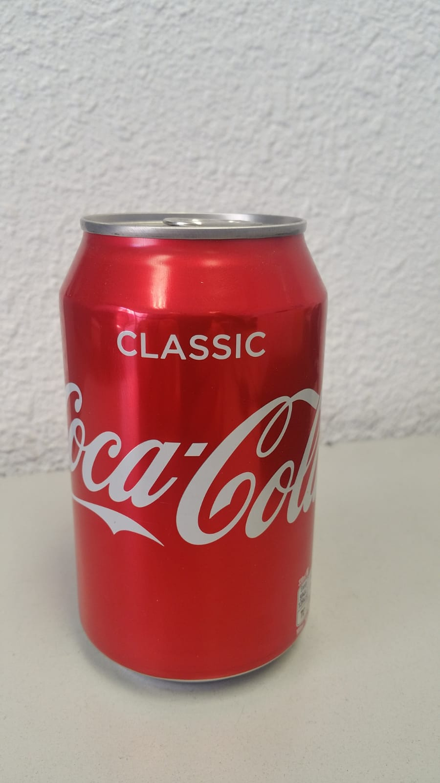 COCA COLA CAN 33 CL NORMAL Danes text PAY SCROW