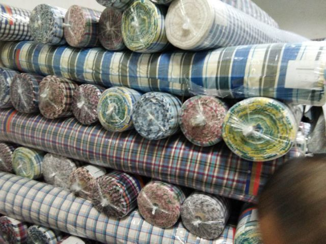 new offers stock available 100% cotton yarn dyed fabric china sept 26 18