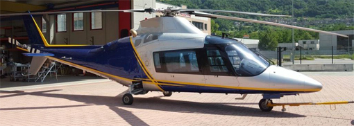 For sale: Inexpensive, twin-turbine, multi-mission Agusta A109C IFR LR, 8 seats helicopter with Autopilot and Floats.