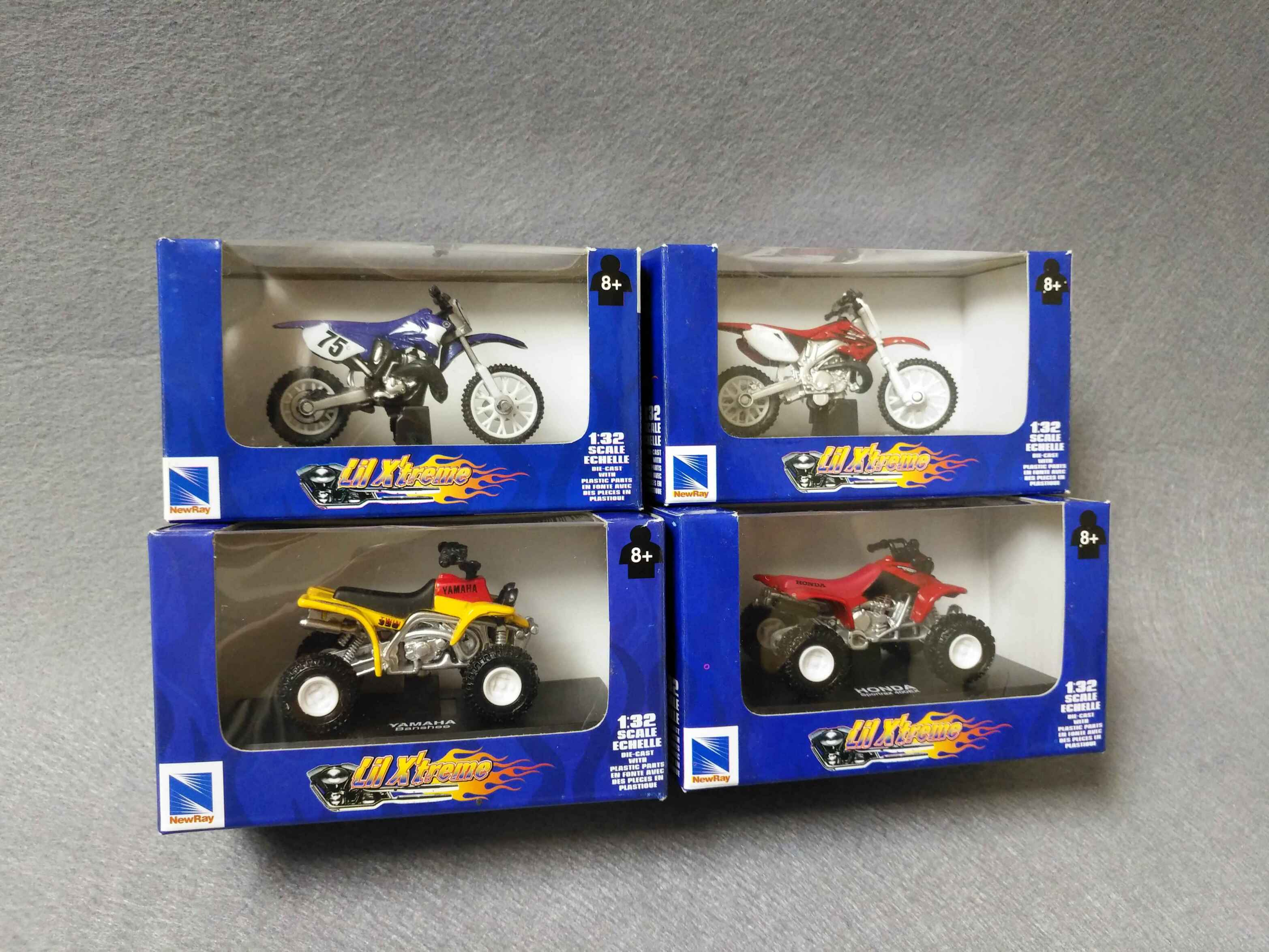 "STOCKLOT OF ""DIE CAST MINI BIKE"""