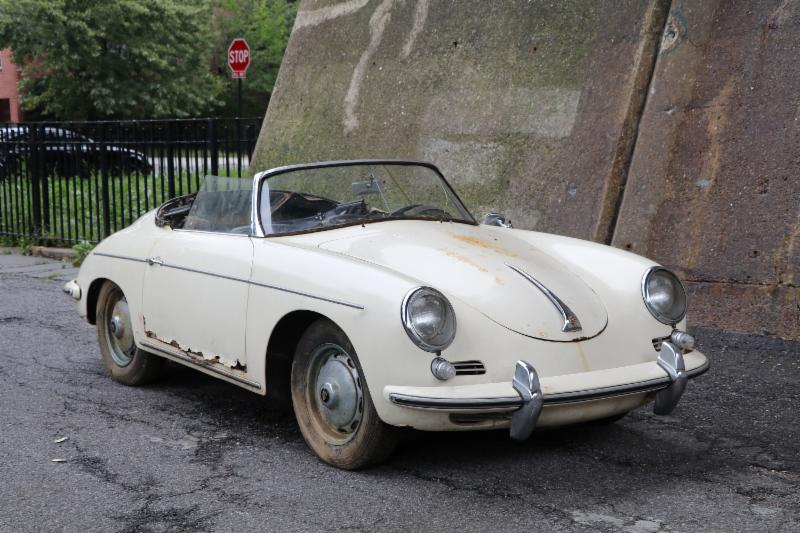Unbelievable Barn-Find 1960 Porsche 356B Super 1600 Roadster with Matching Numbers