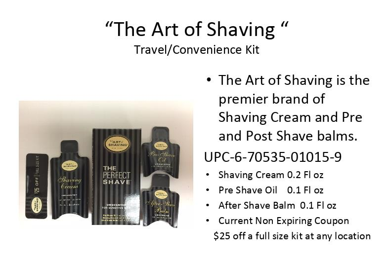 The Art of Shaving Closeout- 48,000 units