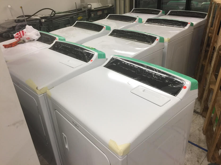 7.0 cu. ft. 240 Volt High-Efficiency White Electric Vented Dryer with AccuDry and Intuitive Touch Controls