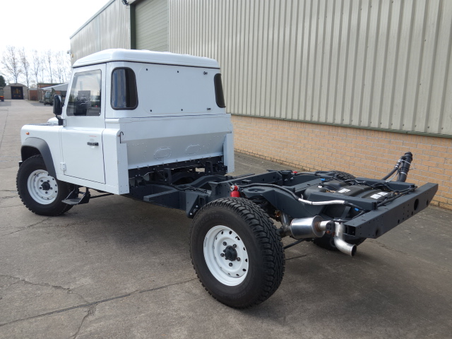 Armoured Vehicles by Jaguar Land Rover - Offer - 5 x New 2012 Land Rover Defender 130 chassis cab - B6 Armoured Body Work
