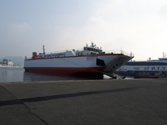 254 PAX LCT TYPE OF CAR-FERRY (TBN) FOR SALE