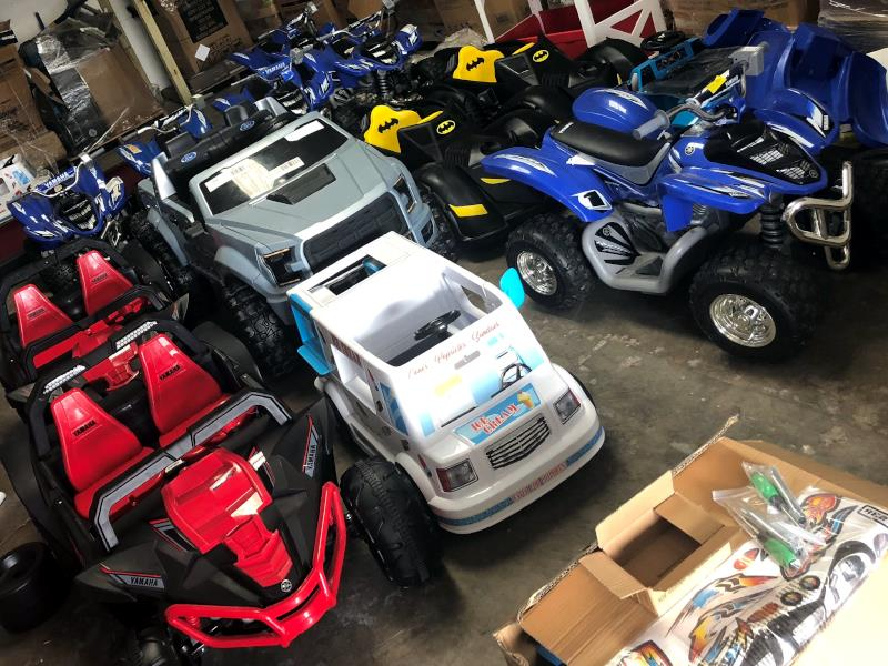 Great Prices on KMRT Inventory and Power Wheels!