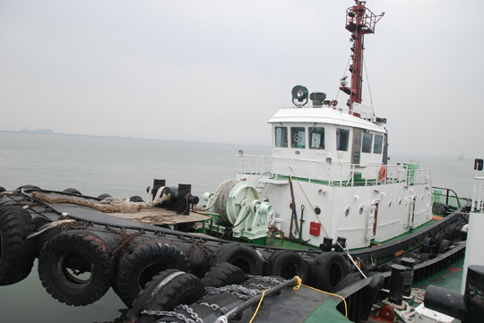 3,400 PS HARBOUR TUG (NO. 1 HWAYANG) FOR SALE