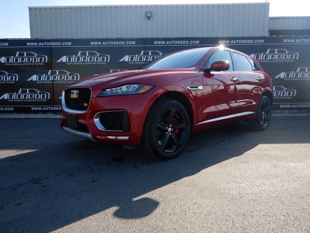 PRE-OWNED JAGUAR F-PACE 3.0 S AWD -2017 YM