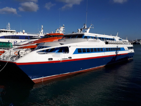 364 PAX CATAMARAN TYPE OF FAST FERRY (M/V TBN) FOR SALE