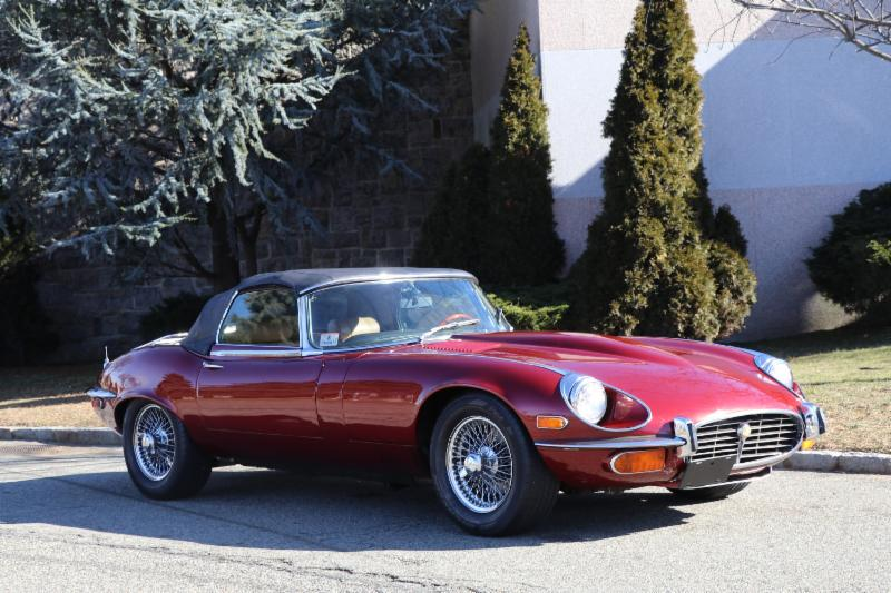 Unique and Exciting Offer: 1974 Jaguar E-Type Roadster with Corvette Engine