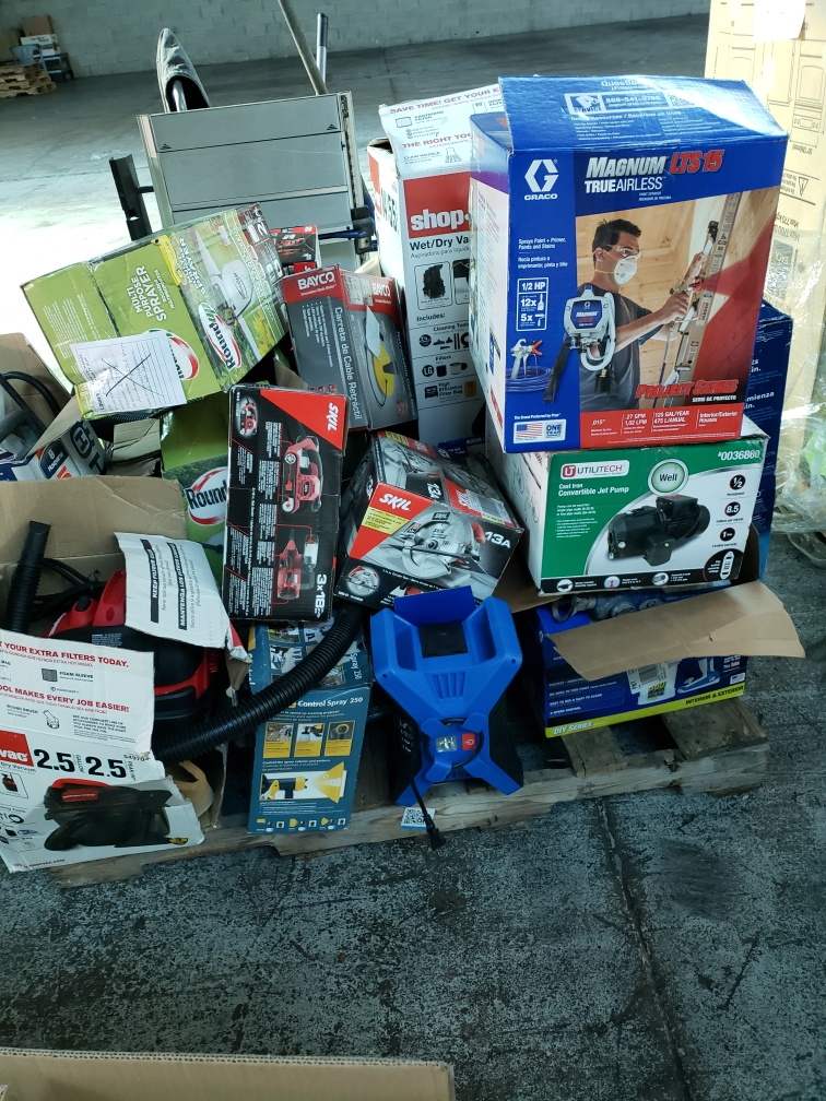 Lowes Truckload Liquidation - 5 Trucks Available -