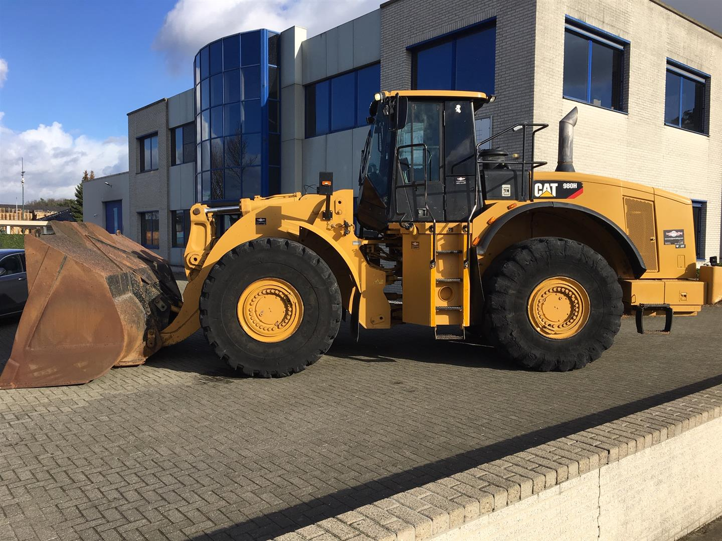 Just in! Caterpillar 980H year 2007