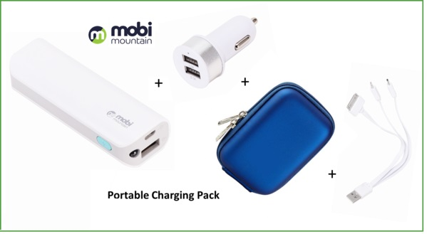 MOBILE Portable Charging Pack Europe