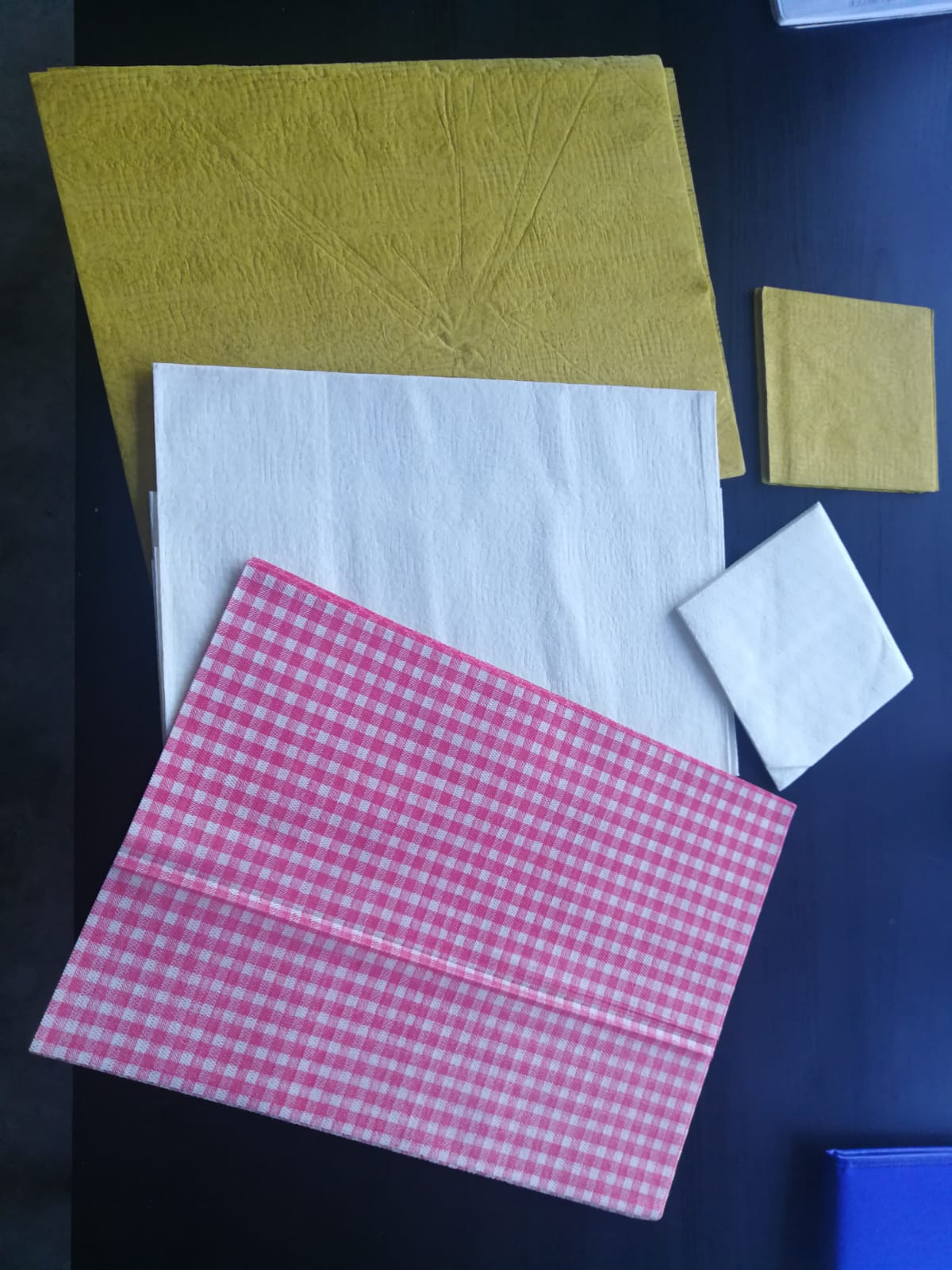 Tablecloths and napkins for restaurant Europe