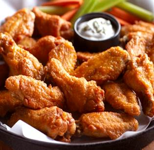 IQF Raw unbreaded chicken wings