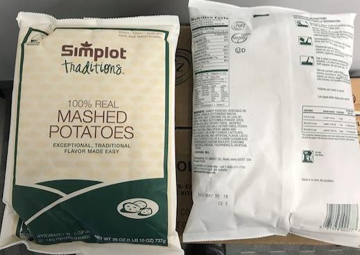SPECIAL BUY REAL Dehydrated Mash Potato Flakes 12/26 oz