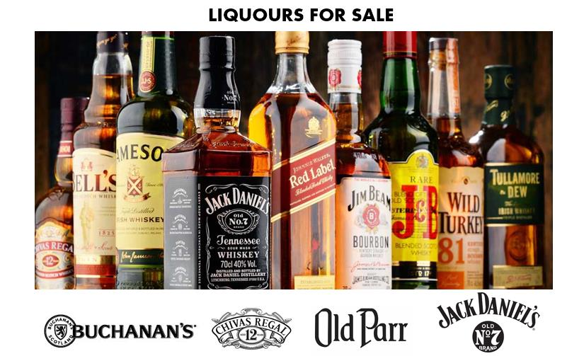 Liquor Offer Big brands // Liquor Offer Big Brands