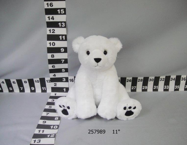 20,000 PCS of plush polar bear toys
