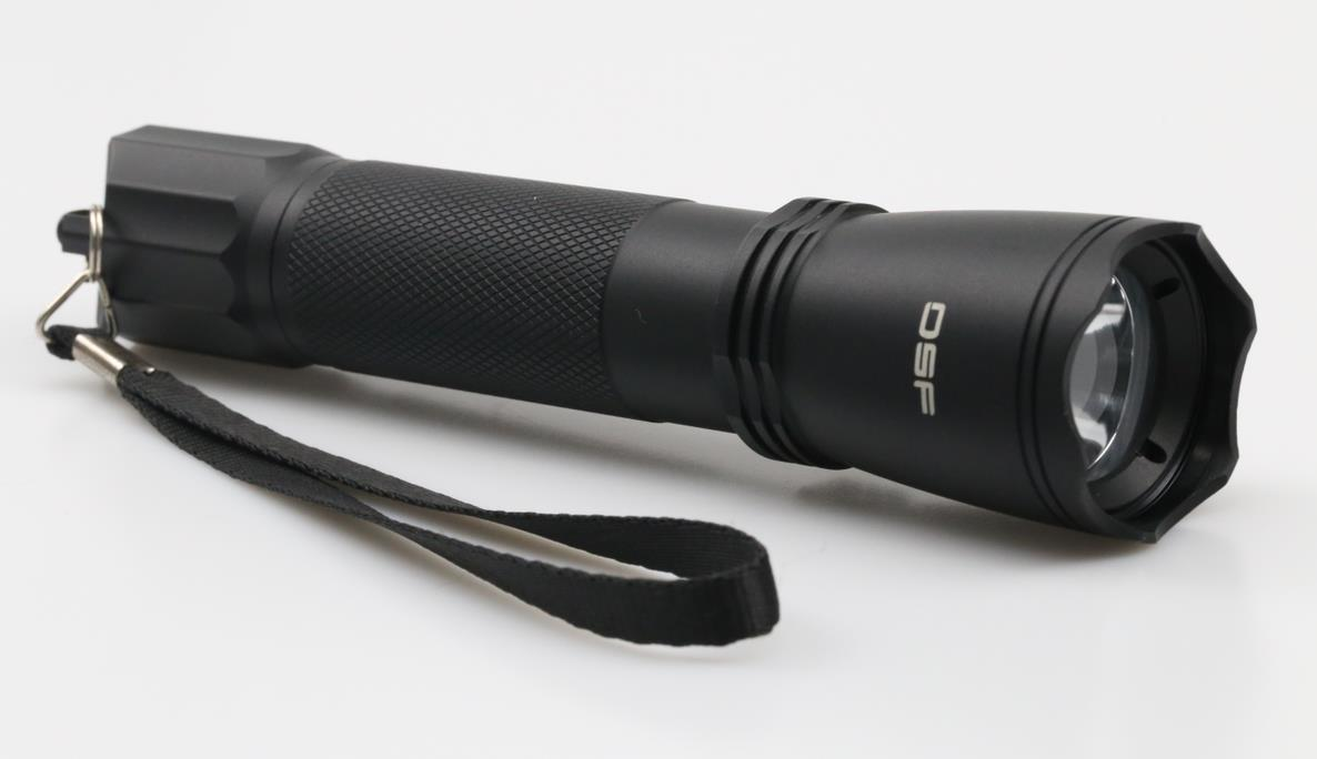 Hot Flashlight suited for military or security work