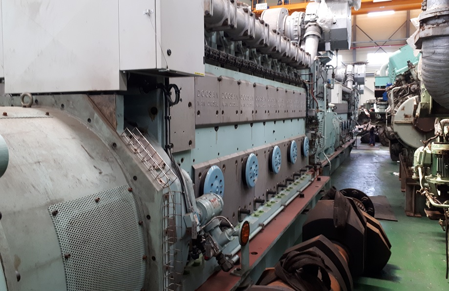 18 sets of MAN 9L21/31 1,980kW 50hz HFO generating sets for sale
